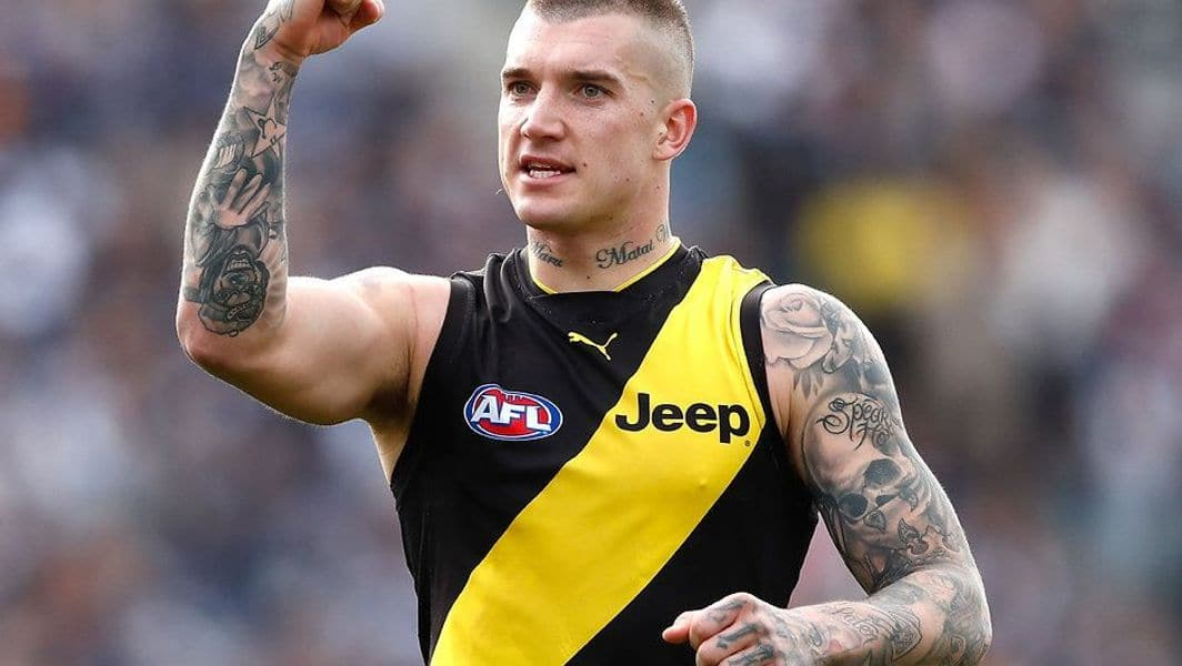 20 Things About Dustin Martin